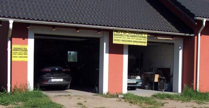 Siedziba serwisu samochodowego w okolicy Gdańska, Pruszcza i Ceder